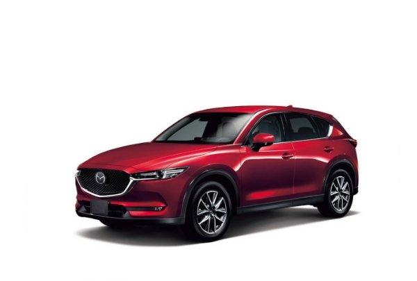 Автомобильные коврики Mazda CX-5 (2017 - ...)