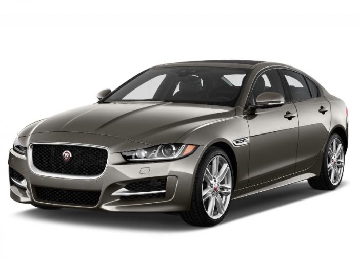 Автомобильные коврики Jaguar XE (2015 - ...)