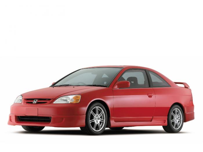 Автомобильные коврики Honda Civic VII Седан 3d (2000 - 2005)