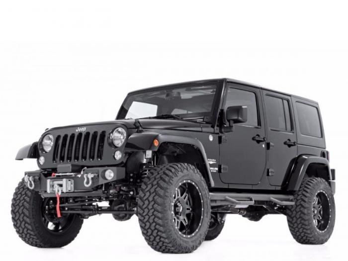 Автомобильные коврики Jeep Wrangler III (JK) 5 дверей (2006 - 2017)