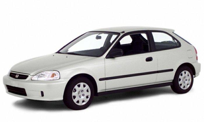 Автомобильные коврики Honda Civic VI хетчбэк (1995 - 2000)