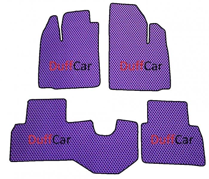 Автомобильные коврики Fiat Doblo l 5 мест (2005 - 2014)