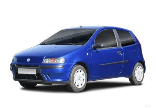 Автомобильные коврики Fiat Punto 3d (1999 - 2004)