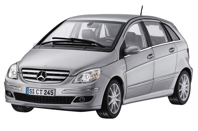 Автомобильные коврики Mercedes-Benz B-Class I (W245) (2005 - 2011)