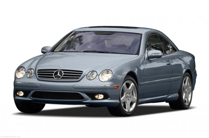 Автомобильные коврики Mercedes-Benz CL-Class II (C215) (1999 - 2006)