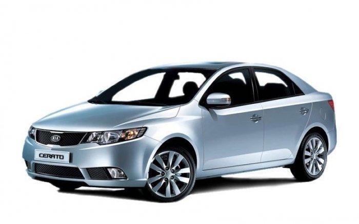 Автомобильные коврики Kia Cerato II (TD) (2008 - 2013)