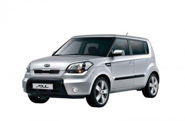 Автомобильные коврики Kia Soul I (AM) (2008 - 2014)