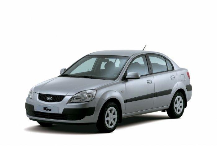 Автомобильные коврики Kia Rio II (JB) Седан (2005 - 2011)