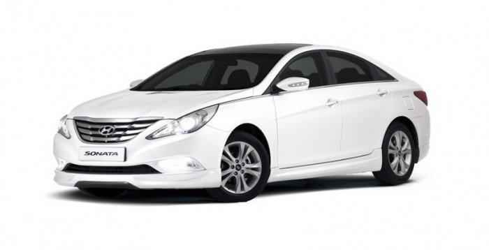 Автомобильные коврики Hyundai Sonata VI (YF) (2009 - 2014)