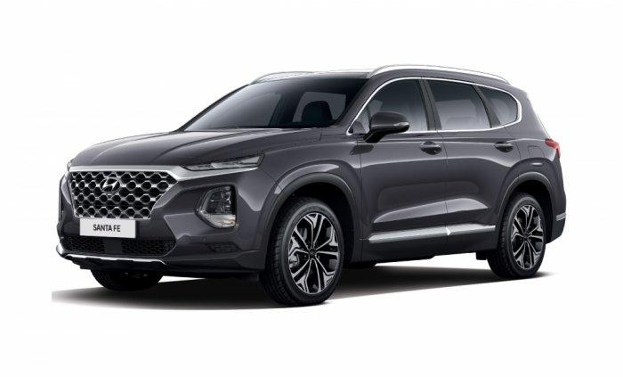 Автомобильные коврики Hyundai Santa Fe IV (TM) 7 мест (2018 - ...)