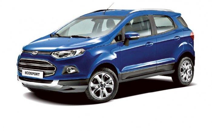 Автомобильные коврики Ford EcoSport II (2012 - 2015)