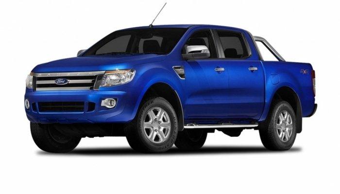 Автомобильные коврики Ford Ranger lll (T6) (2011 - 2015)