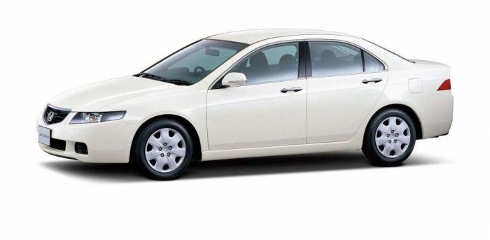 Автомобильные коврики Honda Accord VII (CL) (2002 - 2008)