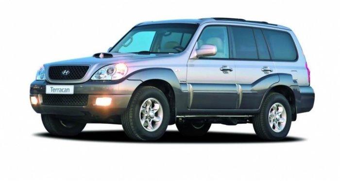 Автомобильные коврики Hyundai Terracan I (HP) (2004 - 2007) Рестайлинг