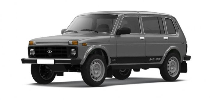 Автомобильные коврики LADA (ВАЗ) 2131 (4x4) 5d (1993 - …)