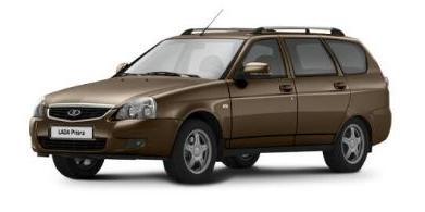 Автомобильные коврики LADA (ВАЗ) Priora Универсал (2009 - 2015)