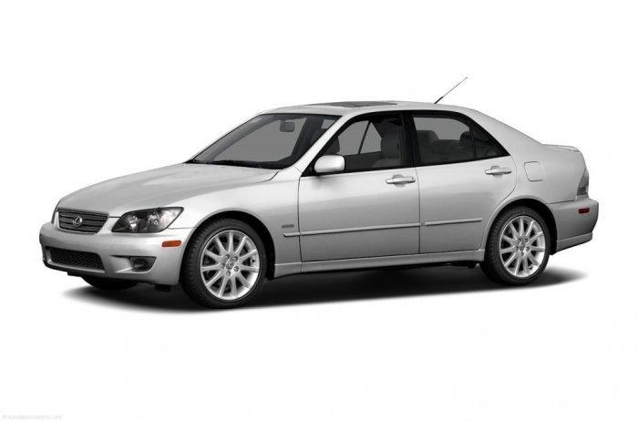 Автомобильные коврики Lexus IS I (1998 - 2005)