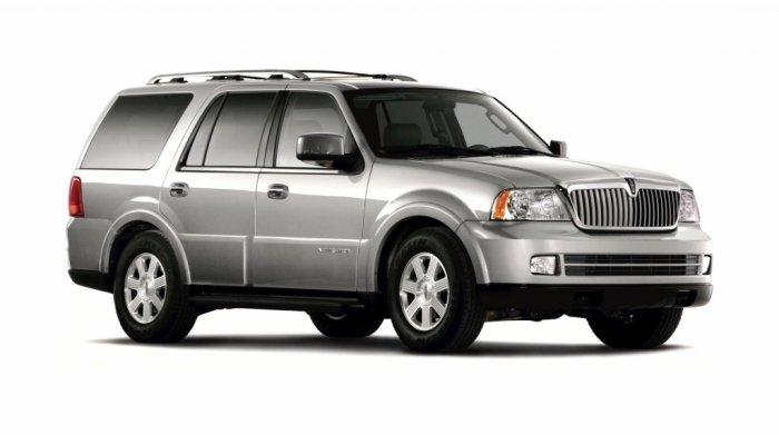 Автомобильные коврики Lincoln Navigator II (2002 - 2006)