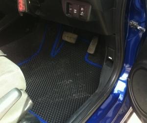 Автомобильные коврики Honda Fit II (GE) (2009 - 2014)