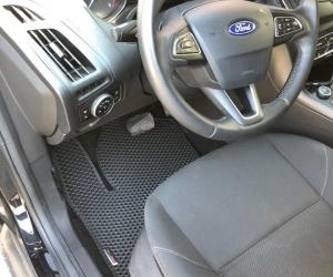 Автомобильные коврики Ford Focus III (C346) Хэтчбек (2014 - 2019) Рестайлинг