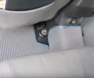 Автомобильные коврики Ford Focus III (C346) Седан (2011 - 2015) Дорестайлинг