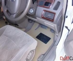Автомобильные коврики Honda Odyssey II правый руль7 мест (1999 - 2003)